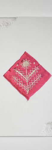 20. Altbau VIII, 30x35cm, Fabric, Lace a
