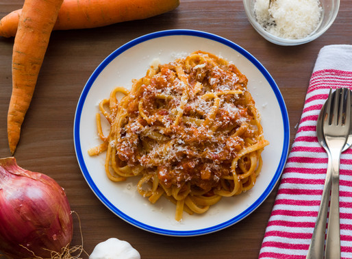 Tagliatelle with Braised Pork Sugo