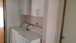 Washer and Dryer Hook-up