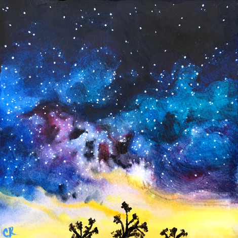 Mojave Milky Way