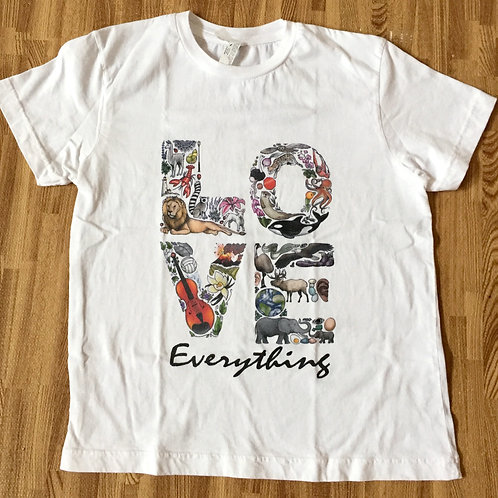 LOVE Everything Adult T-shirt