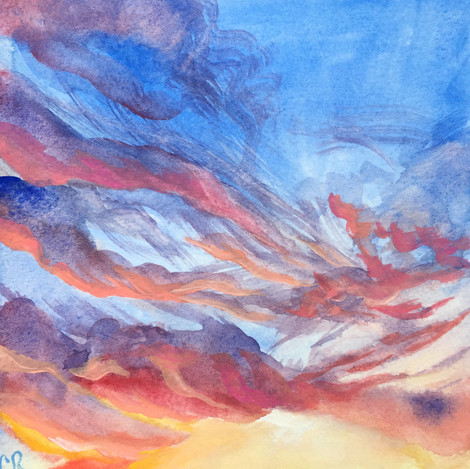 Wispy Sunset
