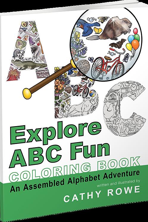 Explore ABC Fun Coloring Book