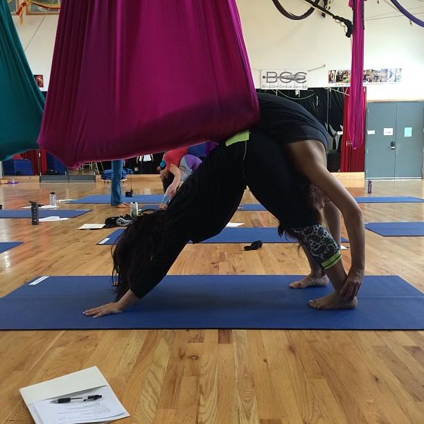 Partners yoga!