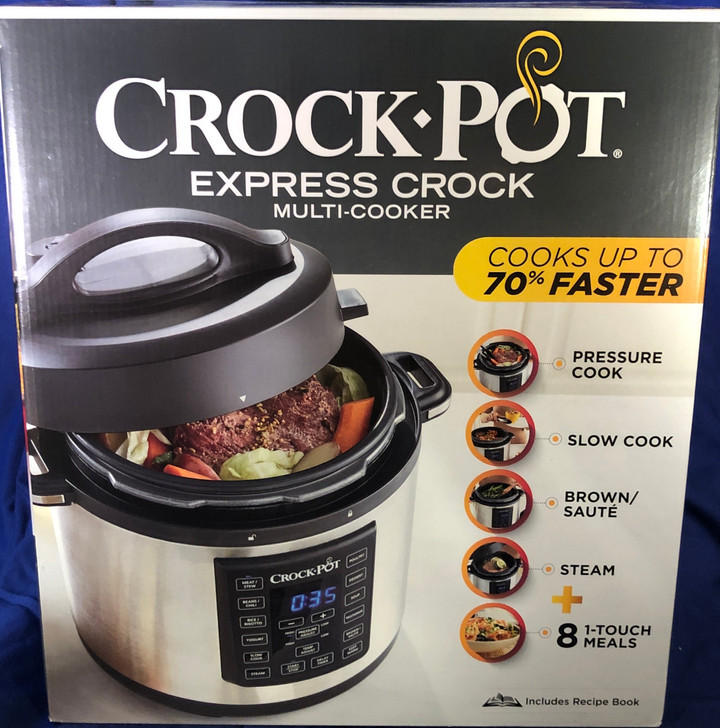 Nearly 1 million Crock-Pot pressure cookers recalled by Sunbeam Products
