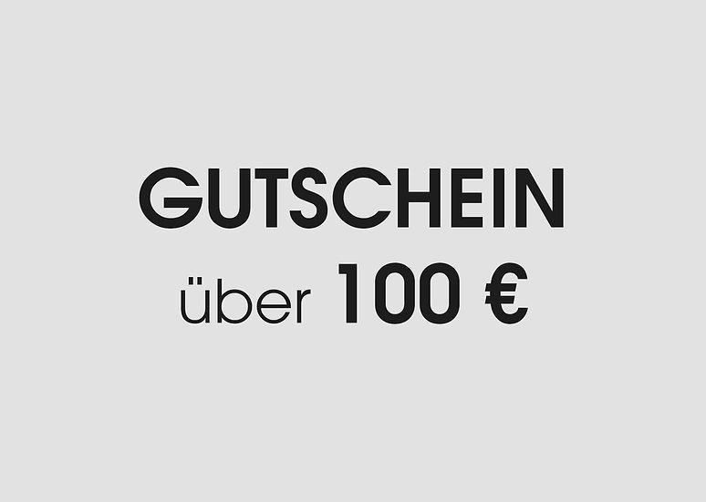 GESCHENKGUTSCHEIN / GIFT VOUCHER 100€