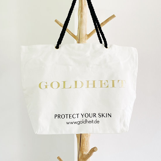 GOLDHEIT - Canvas Beachbag (XXL Size)