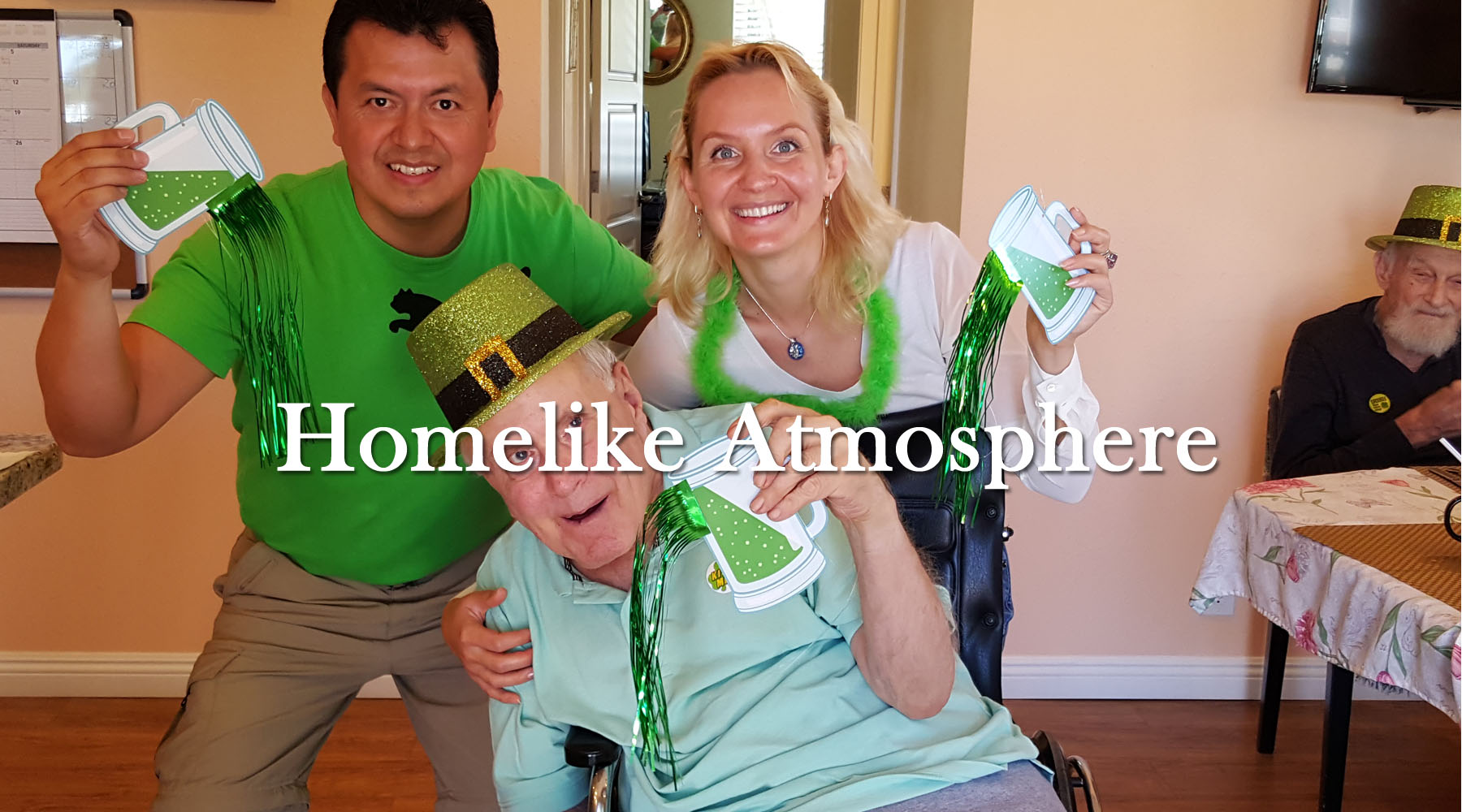 Assisted Living Santa Barbara homelike atmosphere for residents