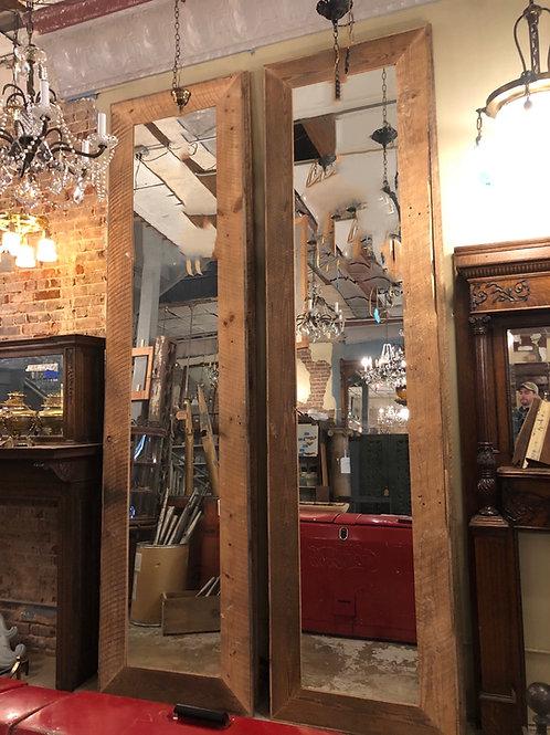 Circle Sawn Barnwood Mirrors