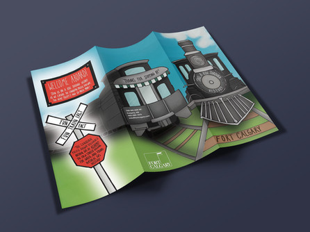 Fort Calgary Brochure