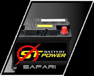 baterias para autos safari racing