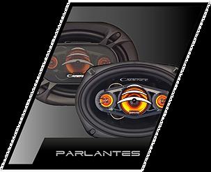 accesorios de audio para autos, parlantes