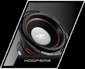 accesorios de audio para autos, woofers