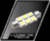 luces de techo para auto