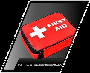 kit de emergencia para autos, botiquín para autos
