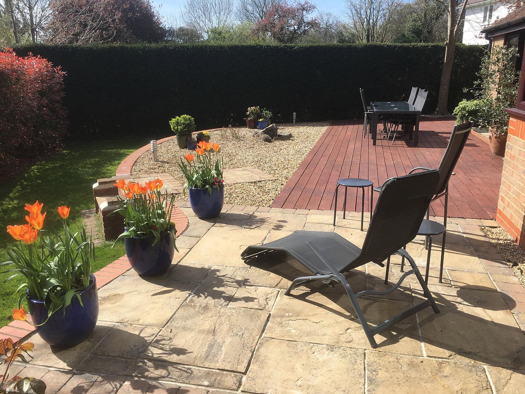 garden landscaping pro tidy
