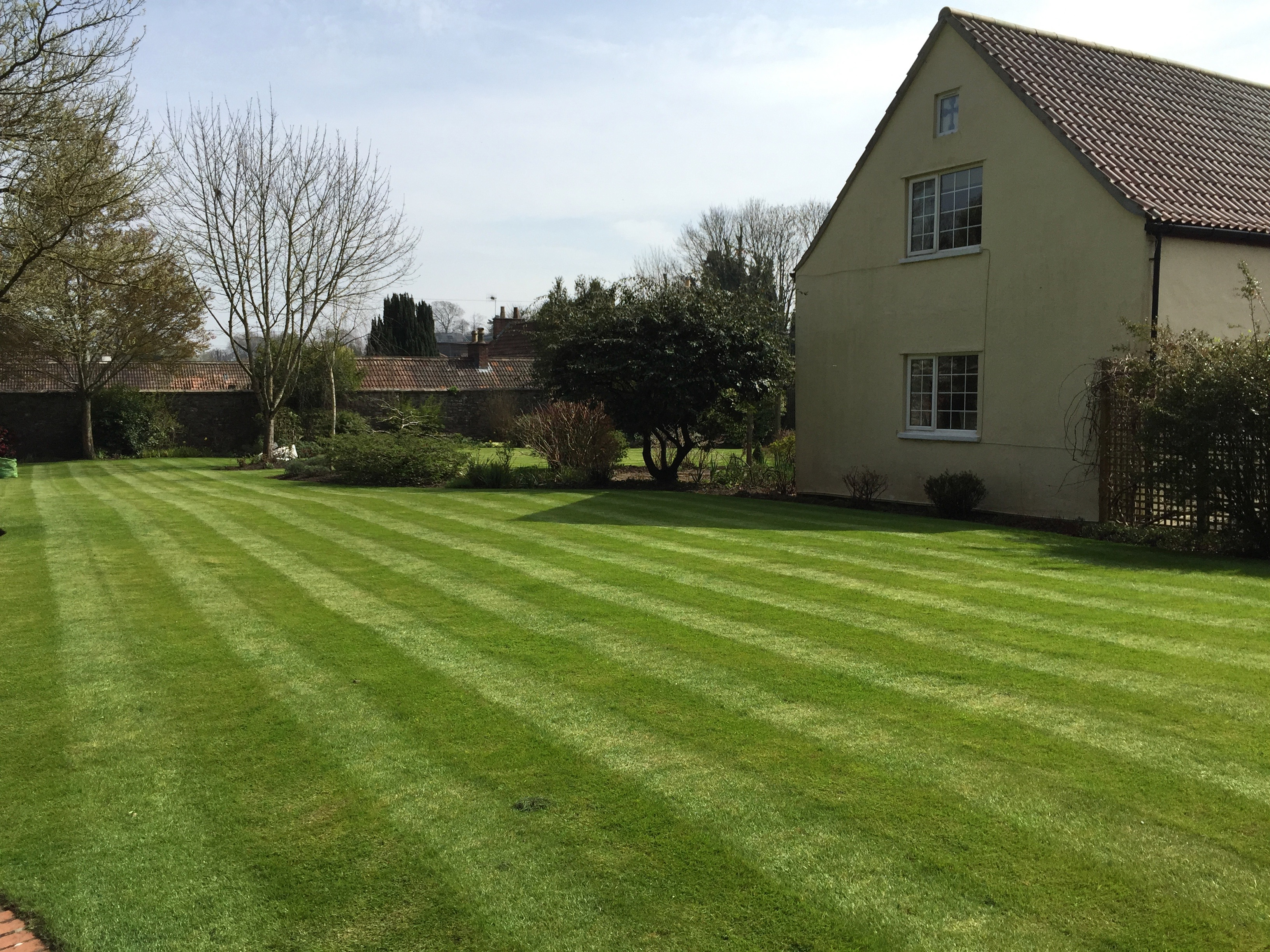 Lawn cutting bristol