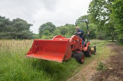 contract grass cutting bristol