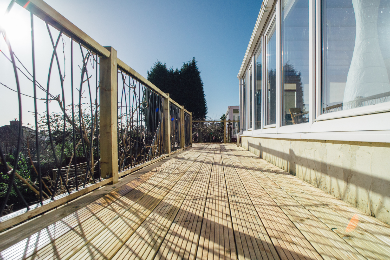 raised decking bristol