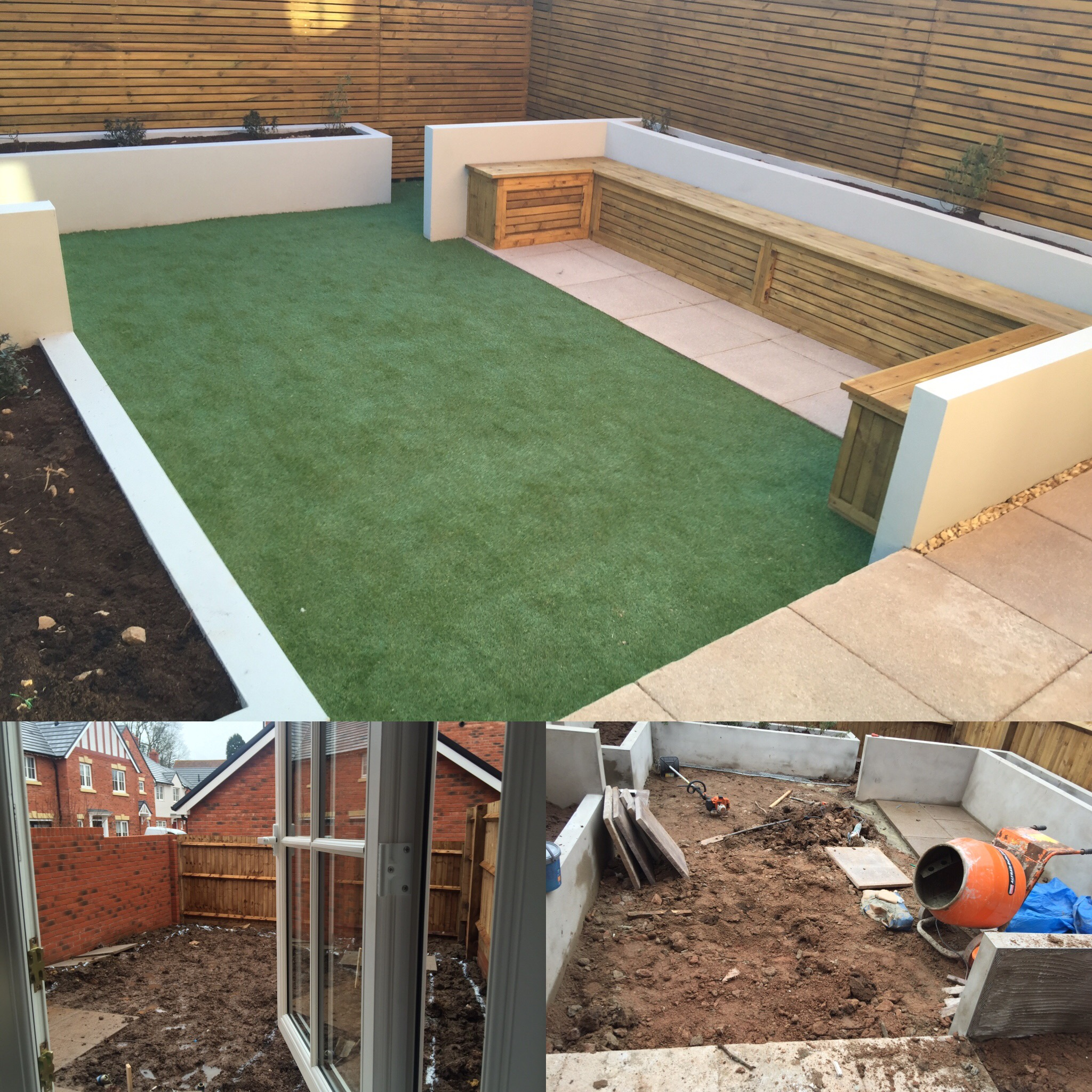 New build garden bristol