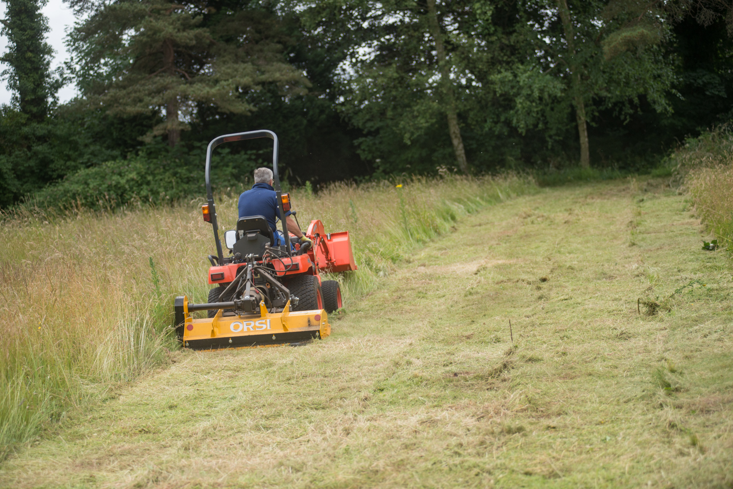 tractor grass cutting bristol