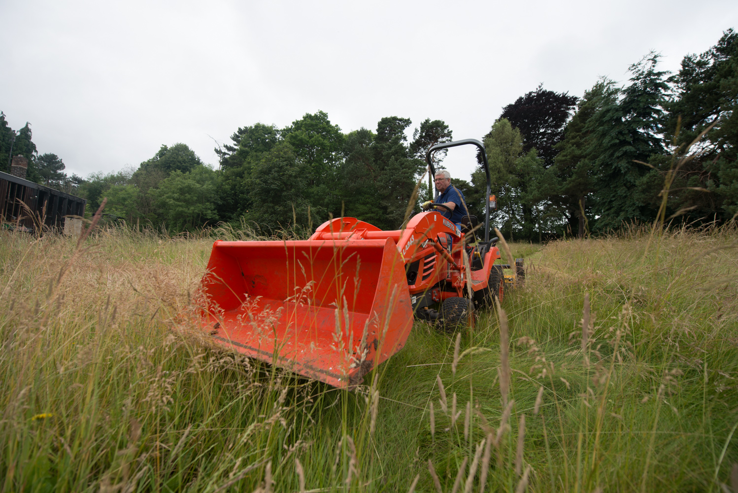 Mowing field bristol