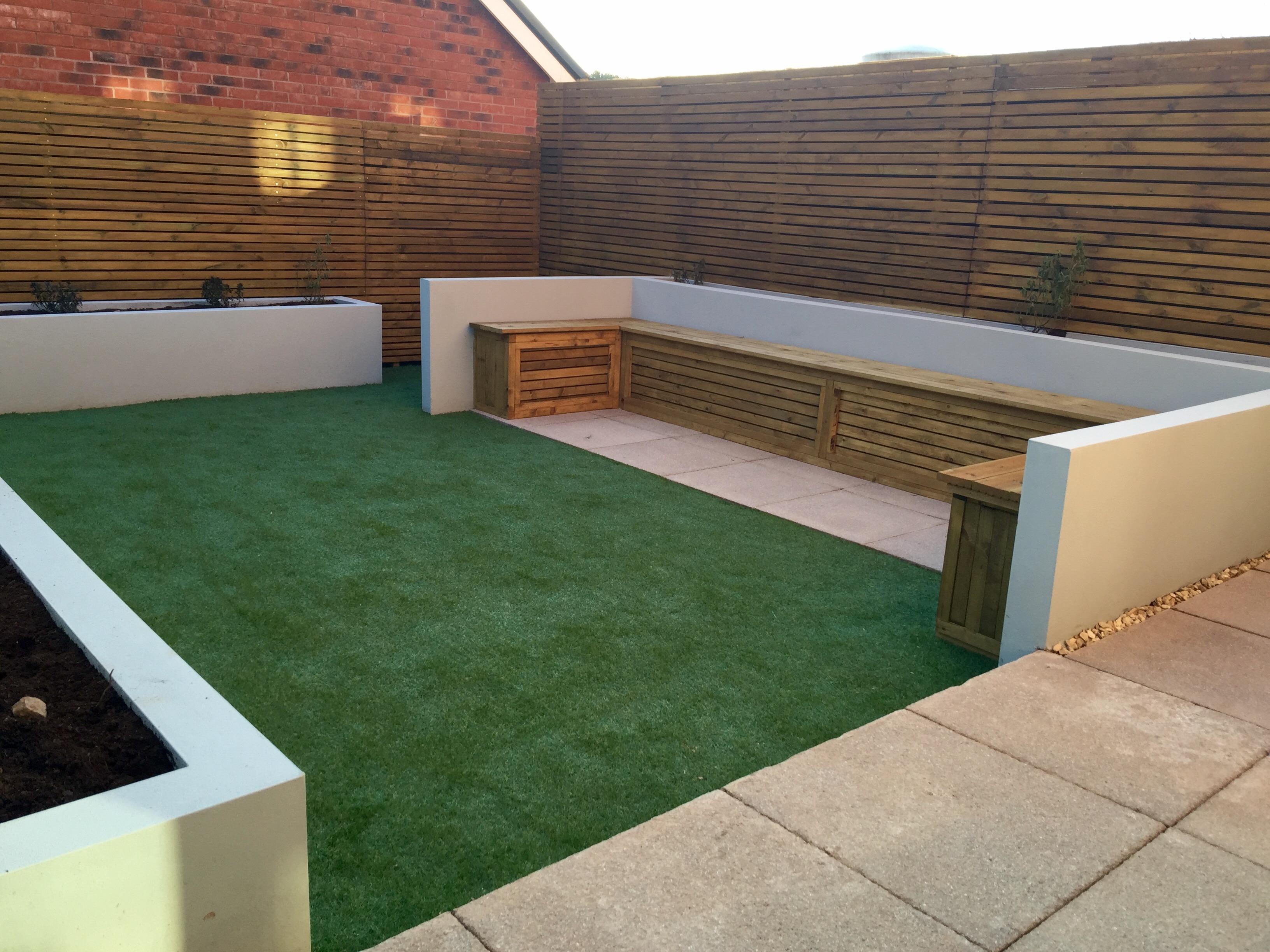 modern garden design bristol