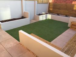 Modern garden Bristol