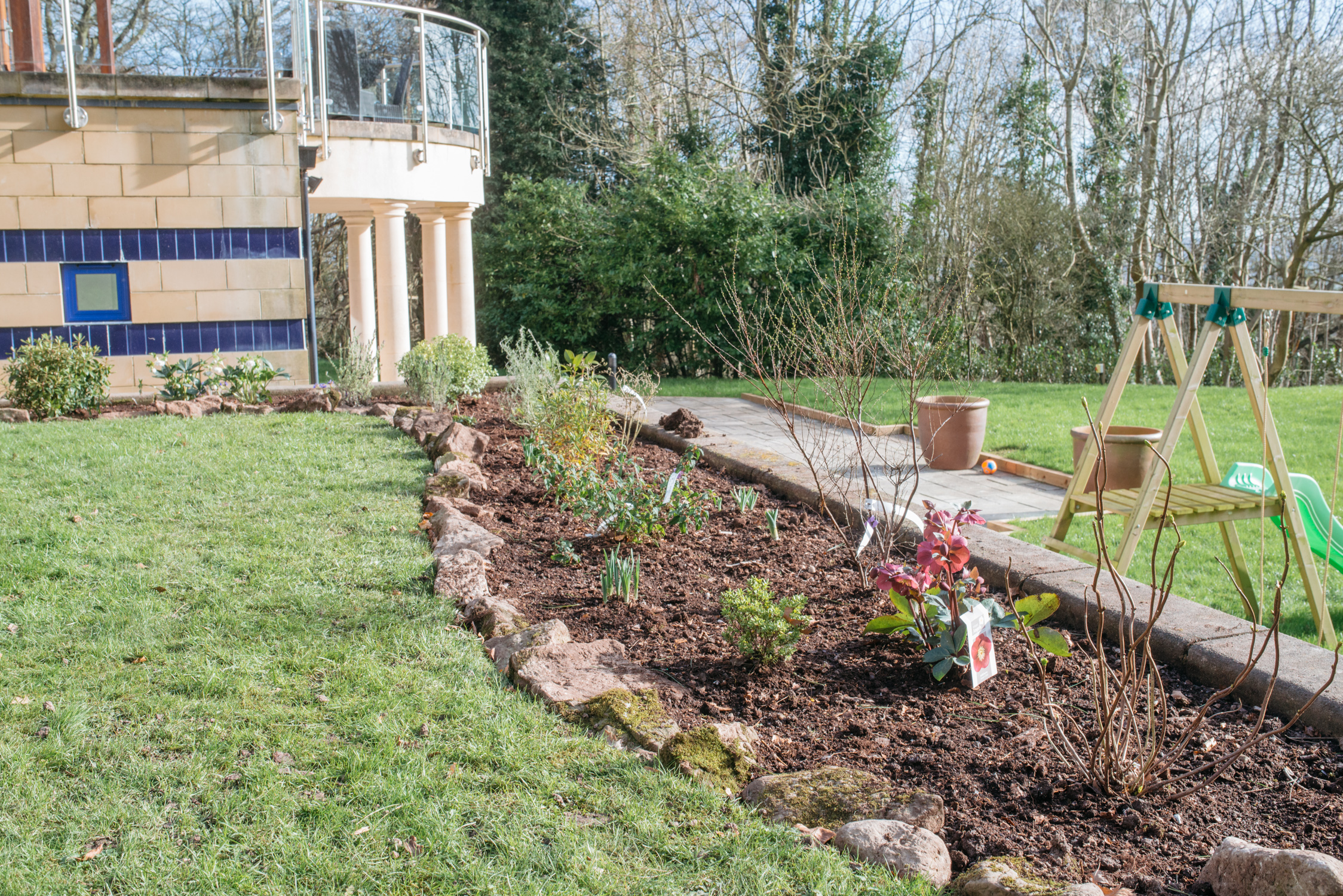 flower bed design bristol
