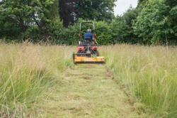 flail mowing bristol
