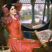 Lady Of Shalott with phone.png