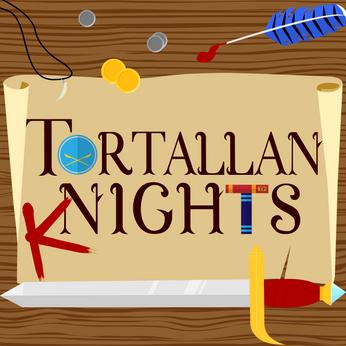Podcast art - Tortallan Knights