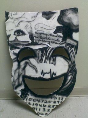 Prop design - mask of Satan in JB