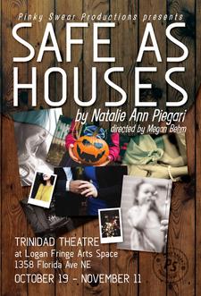 Postcard - Safe as Houses