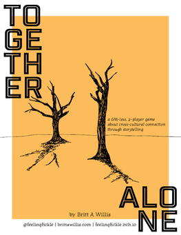 Game cover - TOGETHER / ALONE