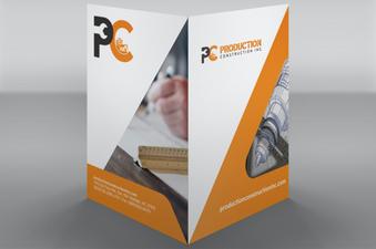 Production Construction Folder Design