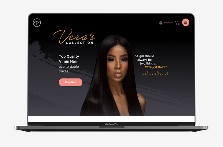 Veras Collection Website