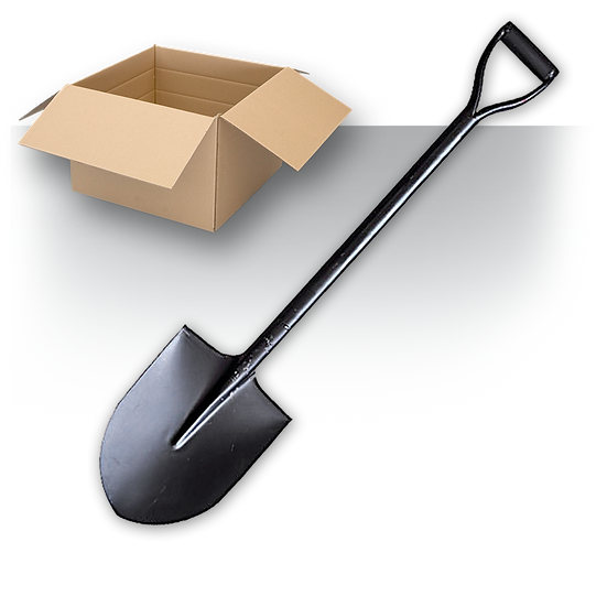 Shovel Mail-In