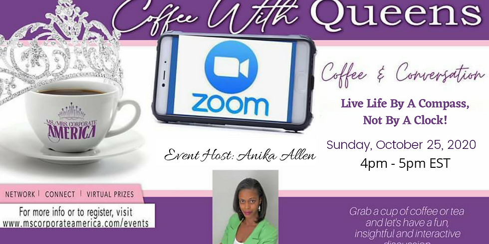 Coffee & Conversation: Live Life By A Compass, Not By A Clock