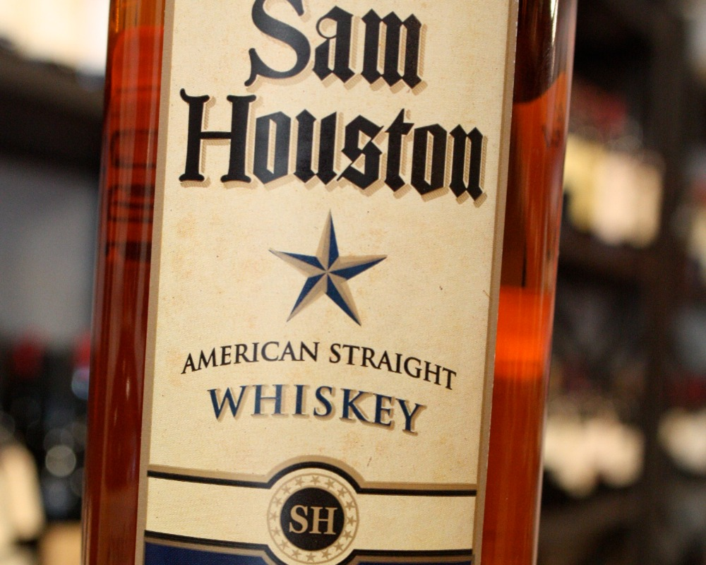 Sam Houston American Straight Whiskey