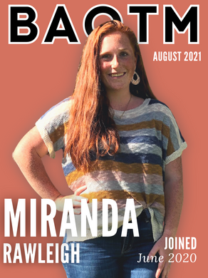 August 2021 - Badass of the Month