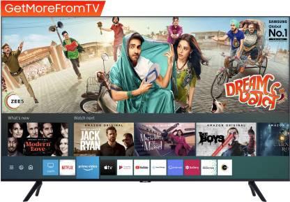 Samsung 108cm (43 inch) Ultra HD (4K) LED Smart TV  (UA43TUE60FKXXL) RS: 34,999