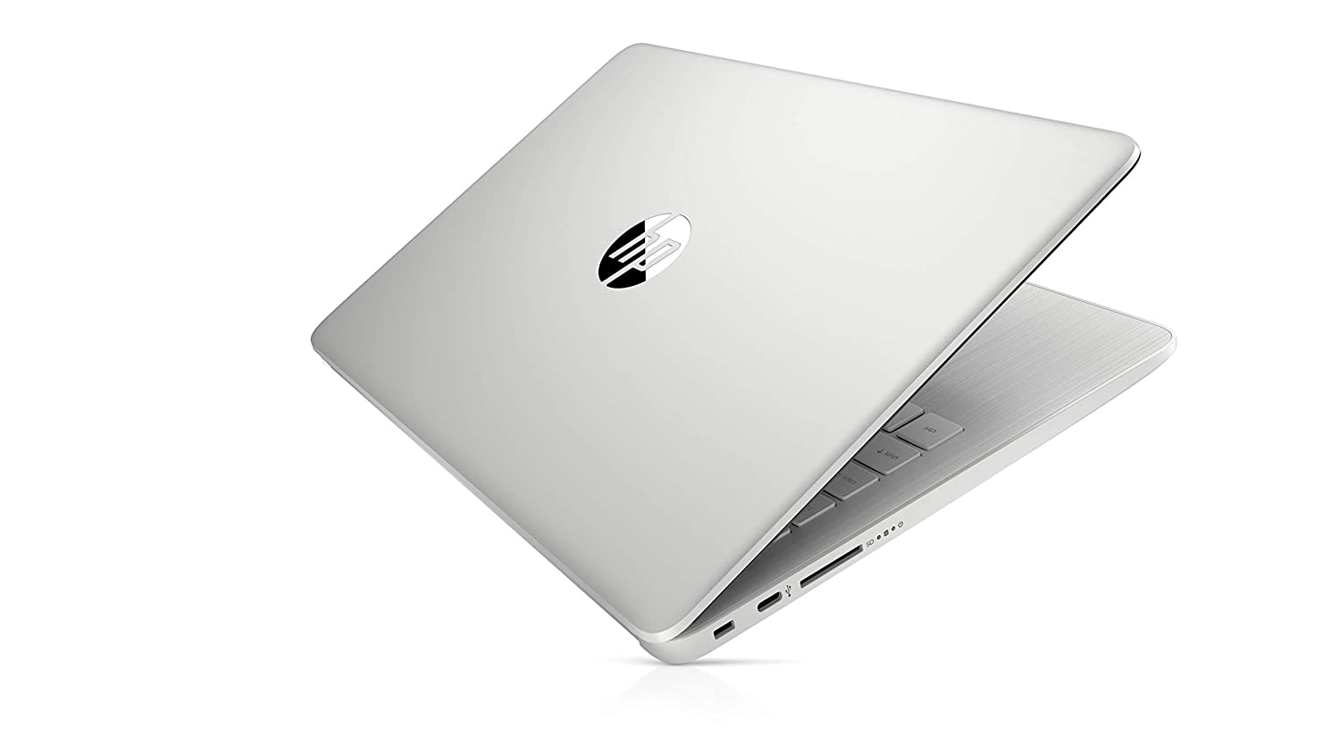 HP 14 Laptop (Ryzen 5 3500U/8GB/1TB HDD + 256GB SSD/Win 10/Microsoft Office 2019/Radeon Vega 8 Graph