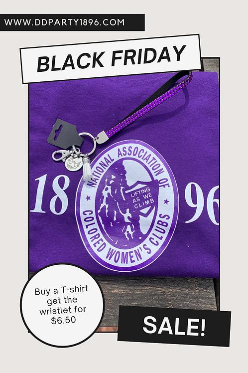T Shirt/Wristlet Sale