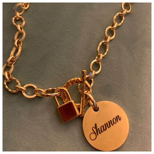 Personalize Charm Necklace