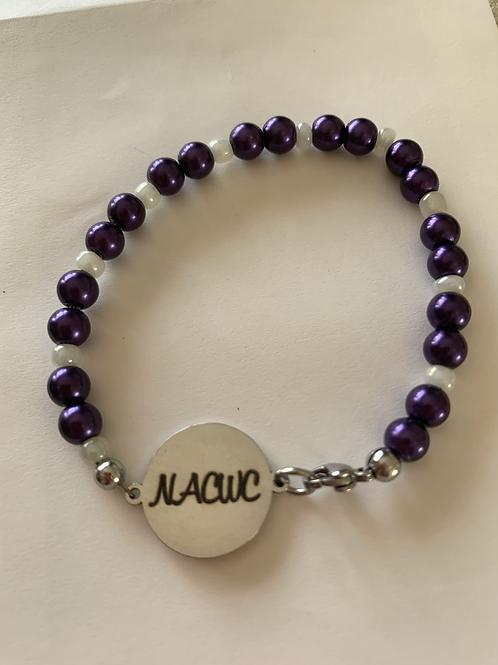 Bead NACWC Charm Bracelet