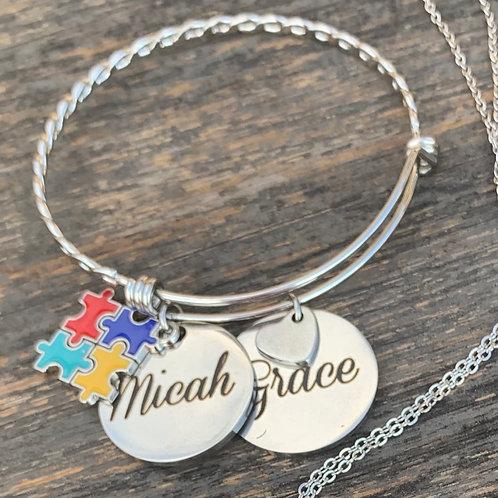 Twisted Expandable Bracelet