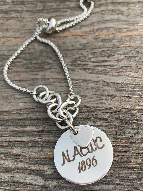 NACWC 1896 Stainless Steel Bracelet
