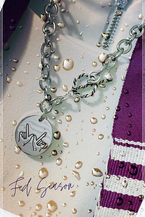 Stainless Steel Cable Link Chain Necklace