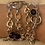 Thumbnail: Silver or Gold Rhodium Charm Bracelet